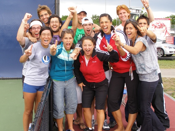 Carabins Tennis Canadian Champs