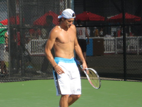 David Ferrer looking sexy in Montreal