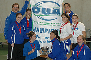 Montreal Carabins Tennis: OUA Champs!